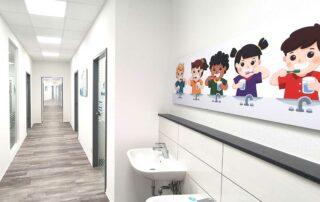 Zahnarzt-Kinder