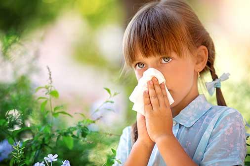 Allergietest-Kinderarzt-Essen